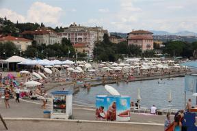 Slatina beach, Opatija