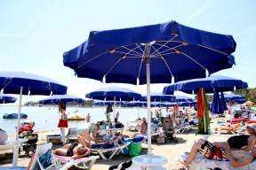 Public beach, Medulin